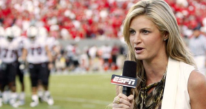 Sportscaster Erin Andrews: A Woman Dominating A Man's World