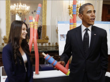Obama Puts Focus On Girls At Annual White House Science Fair