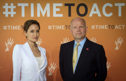 End-Sexual-Violence-Summit-Angelina-Jolie-William-Hague