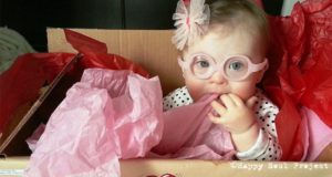 Down Syndrome Baby Proving What Makes You Different Makes You Beautiful