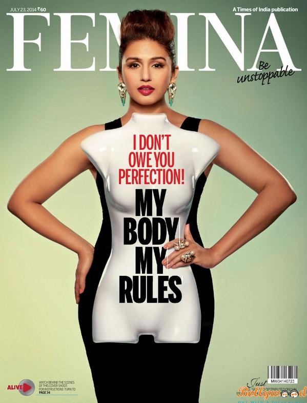 Huma-Qureshi-Femina-magazine