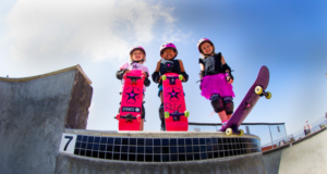 The Pink Helmet Posse Heralding A New Generation Of Female Skaters