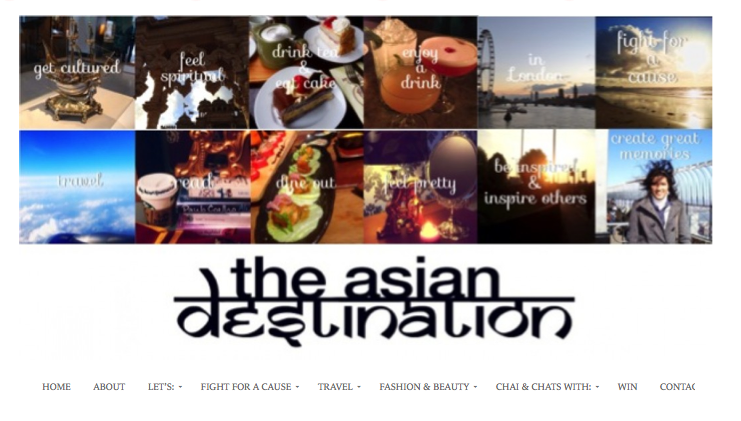 Our Feature on UK Site 'The Asian Destination'