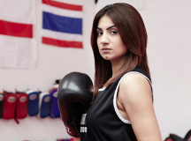 Muslim Female Boxer Causing Controversy While Inspiring Other Girls