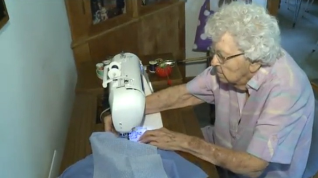 99 Year-Old Woman Shows Up Every Charitable Donation With This Simple Act