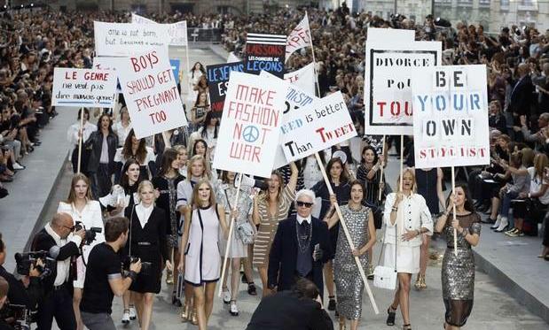 karl-lagerfeld-chanel-paris-fashion-week-feminism