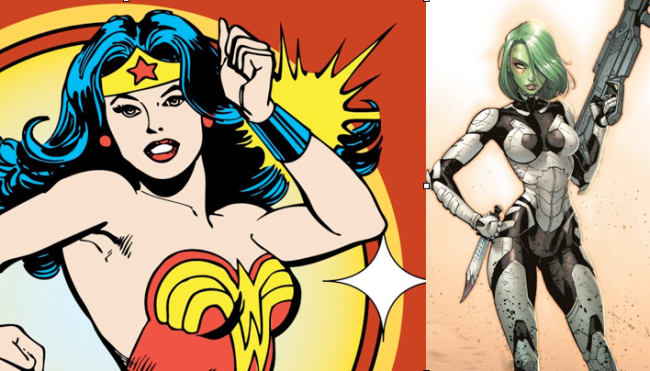 Wonder Woman & Gamora Getting Their Own Digital Comic Series