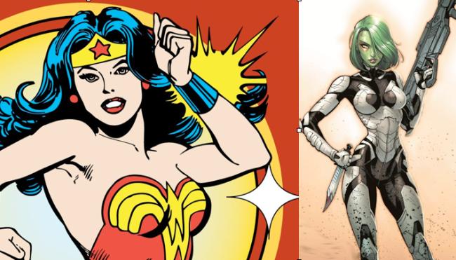 Wonder Woman & Gamora Getting Their Own Digital Comic Series