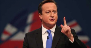 UK Prime Minister David Cameron Refuses To Wear A Feminist Shirt