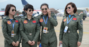China's First Female Fighter Pilots Showing The Skies Have No Gender Limits