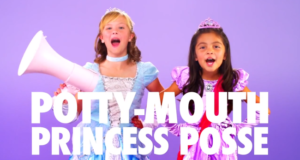 The Potty-Mouthed Princessess Are Baaaack (To Talk Domestic Violence)