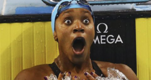 Alia Atkinson Becomes The 1st Black Female Swimmer To Win A World Title