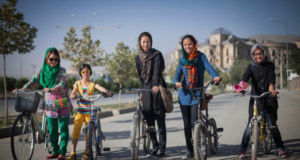 Afghan Women Riding Bikes To Break Cycles Of Oppression & Social Taboo