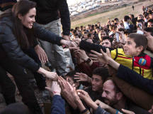 Angelina Jolie Shares Her Experience Visiting Displaced Syrian And Iraqi Refugees