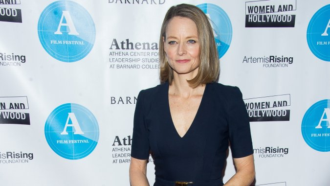 Jodie Foster Says Hollywood Execs Need To Stop Seeing Women In Film As A Risk
