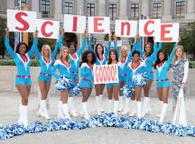 Super Bowl Cheerleaders Stepping It Up To Promote…STEM Careers?