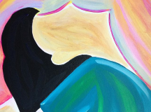 Artist Creates Series Of Paintings Promoting Women's Rights & Female Empowerment