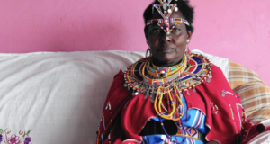 Masai Woman Rebelling Against African Tradition In The Name Of Equality