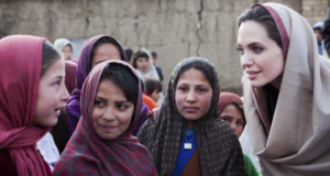 Angelina Jolie Opens Center In The UK To Fight Warzone Violence Against Women