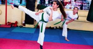 Taekwondo Champ Fights Gender Discrimination & Violence On Behalf Of Girls In Tajikistan