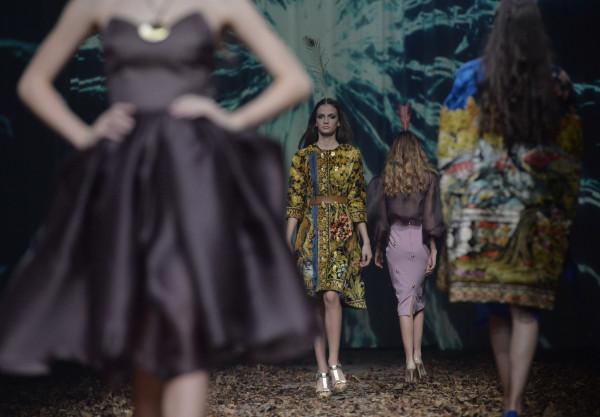 models-on-catwalk