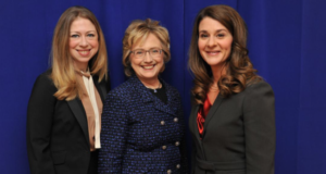 """""""Not There Yet"""" Clinton Foundation Releases 'No Ceilings' Report On Gender Equality"""