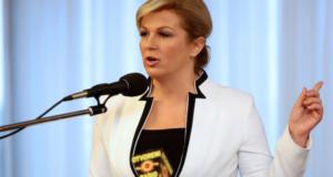 Croatia's 1st Female President Kolinda Grabar-Kitarovic Says Female Empowerment Is Key To Economic Growth