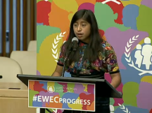 15 Y/O Schools The UN On The Plight Of Guatemalan Girls' Education & Health