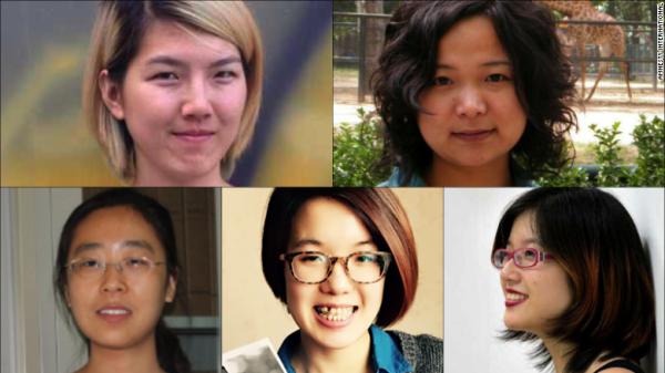 china-five-feminist