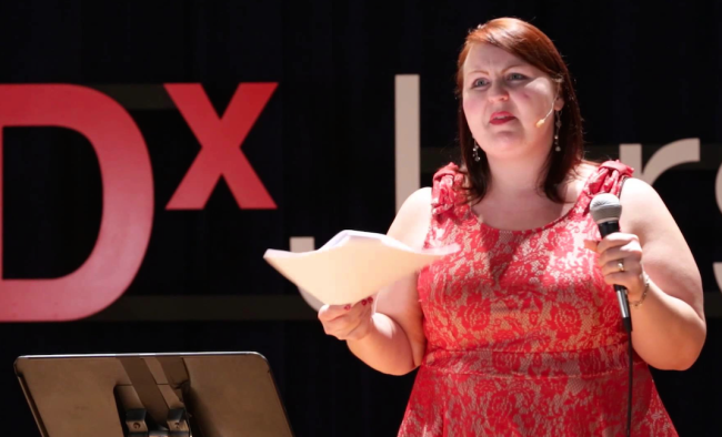 The TED Talk From A Burlesque Performer On Body Image That You NEED To Watch