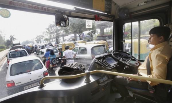 Saritha-Vankadarath-delhi-female-bus-driver