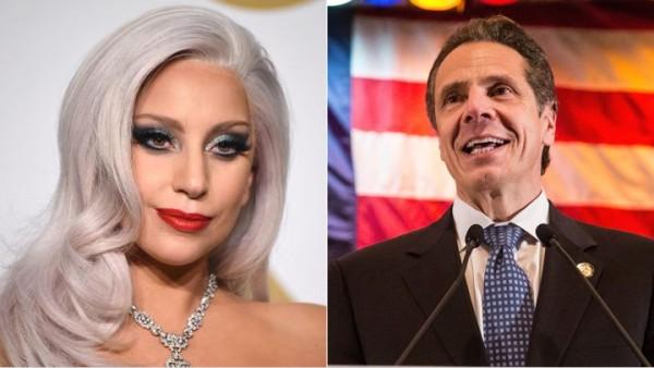 lady-gaga-NY-governor-andrew-cuomo