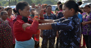 Nepal Police Teaching Women Self Defense Classes To Protect Against Sexual Assault