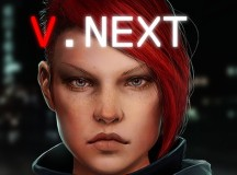 V.Next – An Episodic Cyberpunk Adventure Video Game Feat. A Female Criminal Hacker