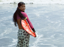 Meet Bangladesh's 1st Female Surfer Who Escaped A Life Of Prostitution In Favor Of Breaking Taboos