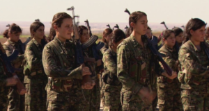 The Women Fighting ISIS On The Front Lines Defend Their Family, Land & Freedom