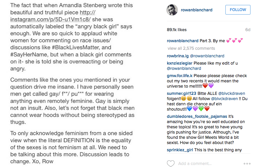 rowan-blanchard-instagram-intersectionality