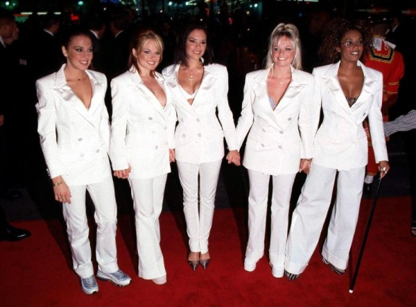 The-Spice-Girls-wear-White-suits