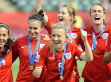 UK Women's National Soccer Team The Lionesses On Being Role Models For Younger Girls