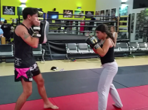 Meet The 1st Female Wrestler In The Arab World Whose Opponents Are All Men