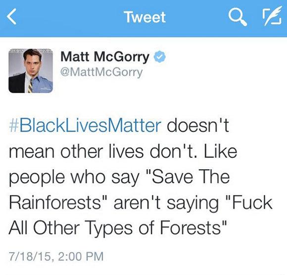 matt-mcgorry-twitter-black-lives-matter