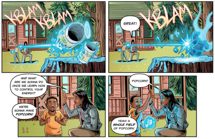 New Comic Book 'Raising Dion' Features A Power-less Single ... Raising Dion