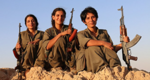 Trio Of Female Turkish Soldiers Is Fighting ISIS To Protect Women & Children In Kurdistan