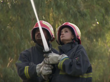 Pakistan's First Female Firefighter Rescues The Emergency Service From A Major Gender Barrier