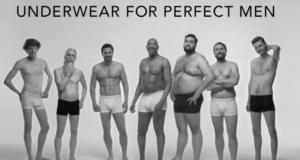 Underwear Brand Dressmann Just Made A Badass Statement For Positive Male Body Image