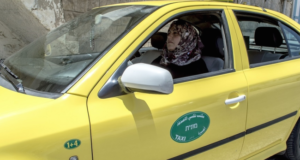 Palestine's First Female Cab Driver Is Making A Powerful Statement For Gender Equality