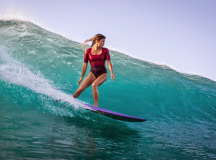 "Surfer Leah Dawson Says Being Told She Surfs ""Like A Woman"" Is A Compliment"