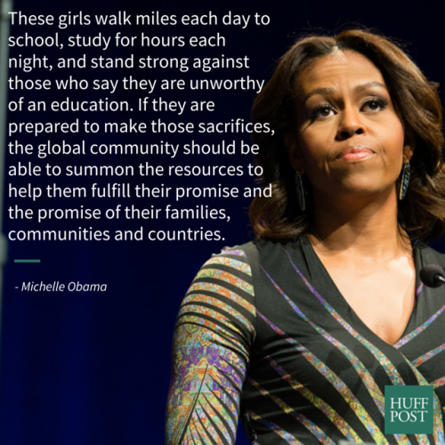 Michelle Obama Writes Op Ed On How Educated Girls Become Empowered Women