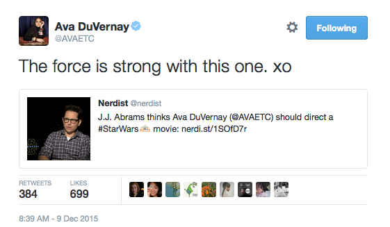 ava-duvernay-star-wars-tweet