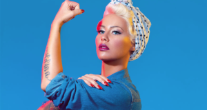 Amber Rose Dresses Up As Feminist Icons For A Badass Paper Magazine Shoot